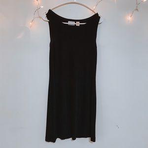 10/$30 Chico's Midi Black Dress